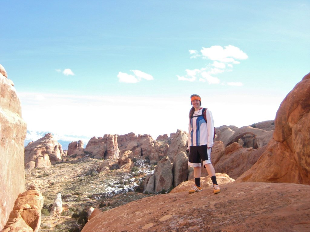 My first visit to a National Park. February 2011 at Arches. I had just turned 20.