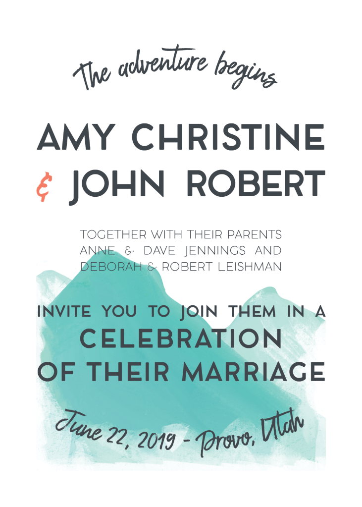 Amy and John_Invitation